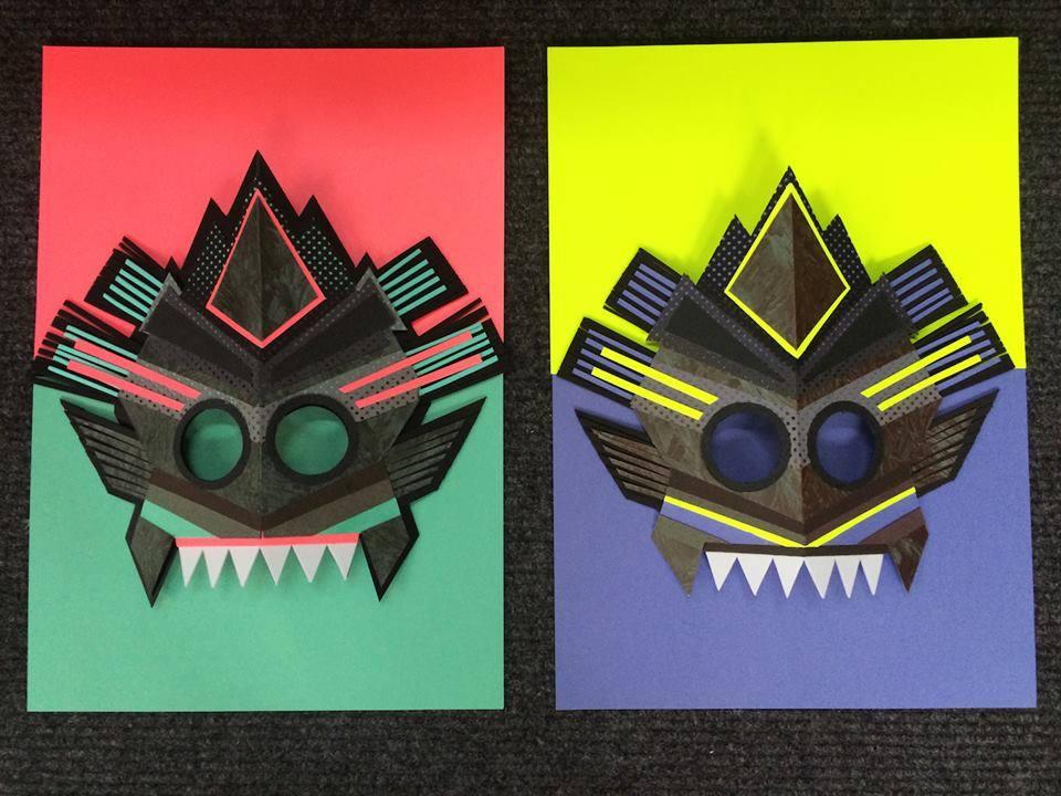 fotos mascaras concurso DDD